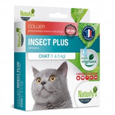 Naturlys - Collier Anti-Parasitaire Insect Plus pour Chat
