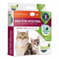 Naturlys - Comprimés Bien être et Hygiène Intestinale Chats et Chatons (aux plantes)