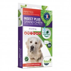 Naturlys - Pipettes Antiparasitaires Insect Plus pour Grand Chien - 5ml / 4 pipettes
