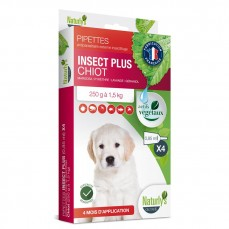 Naturlys - Pipettes insecticides pour Chiots - 4 x 0,85 ml