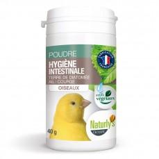 Naturlys - Poudre pour l'Hygiène Intestinale des Oiseaux - 40 gr