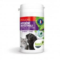 Naturlys - Poudre Hygiène Intestinale Ail et Courge pour Chiens et Chats - 40 gr