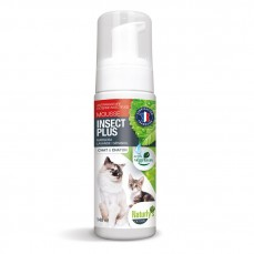 Naturlys - Mousse Anti-Parasitaire Insect Plus Chat et Chaton - 140 ml