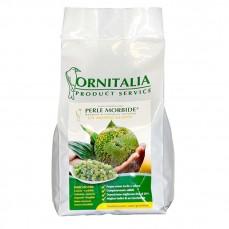 Ornitalia - Perle Morbide Verte - Complément pour Oiseaux - 800 gr