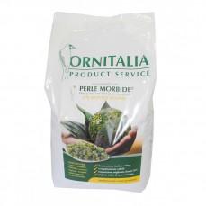 Ornitalia - Perle Morbide Verte - Complément pour Oiseaux - 4 kg