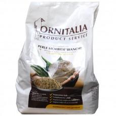 Ornitalia - Perle Morbide Blanche - Complément pour Oiseaux - 4 kg