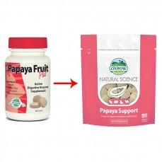 Oxbow - Papaya Support Natural Science - Cachets d' Enzymes Contre les Boules de Poils