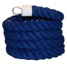 Liane de Coton Bleue pour Perroquets - Large