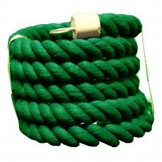 Liane de Coton Verte pour Perroquets - Large