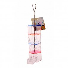 Acrylic Tower - Small - Distributeur Alimentaire pour Perroquet