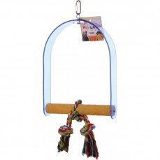 Acrilyc Sandy Swing Large - Balançoire Sandy pour Perroquets