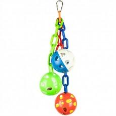 Chain Balls  - Jouet Perruche et Perroquet