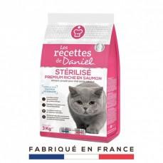 Recettes De Daniel - Croquettes Chat Stérilisé au Saumon - 3 Kg