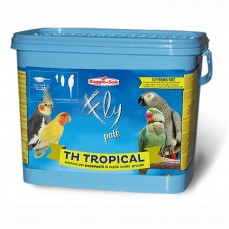 Raggio di Sole - TH Tropical 4 kg - Pâtée Sèche aux Fruits pour Grandes Perruches / Perroquets