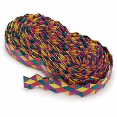 Shredders Rainbow Zig Zag - Tresse de Feuilles de Palmier