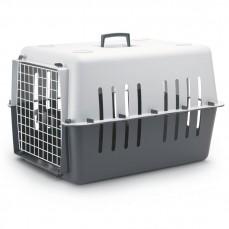 Savic Pet Carrier 4 -  Caisse de Transport pour Petit Chien ou Grand Chat - Anthracite et Gris Clair