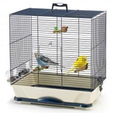 Savic - Cage Oiseaux Primo 40 - Bleu Marine