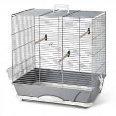 Savic - Cage Oiseaux Primo 40 - Gris Argent