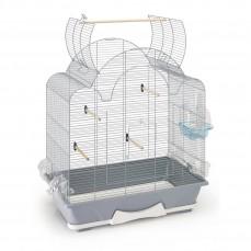 Savic - Cage Oiseaux - Mélodie 50 Open Argent