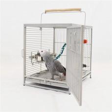Cage de Transport Traveller Pour Grandes Perruches et Petits Perroquets