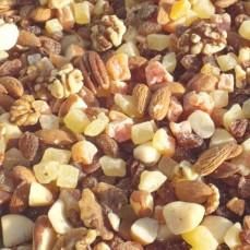 Tidymix - Mélange Fruits et Noix - Qualité consommation Humaine - 250 gr