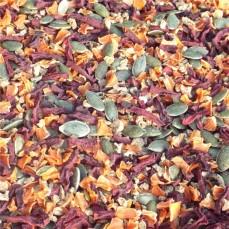 Tidymix - Mélange de Légumes Séchés - Qualité consommation Humaine - 250 gr