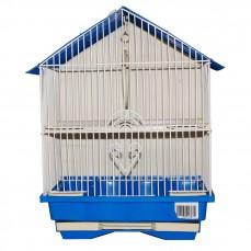 Cage de Transport Pliante Bleue