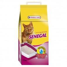 Versele-Laga - Sénégal - 7,5 kg - Litière pour Chats aux Granulés d'Argile Blanche du Sénégal