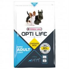 Opti Life - Adult Light Mini - 2,5 kg - Croquettes Allégées pour Petits Chiens Adultes - Goût Poulet