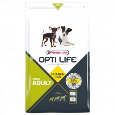 Opti Life - Adult Mini - 2,5 kg - Croquettes pour Chiens de Petites Races Adultes - Goût Poulet