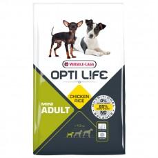 Opti Life - Adult Mini - 7,5 kg - Croquettes pour Chiens de Petites Races Adultes - Goût Poulet
