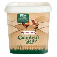 Country's Best - Minavital - Mélange de Minéraux Enrichi pour Volailles - 4 kg