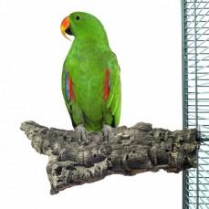 Corky Chew Large - Plateforme en liège pour perroquet