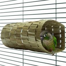 Natural Tube Large - Jouet Cachette Petit Perroquet