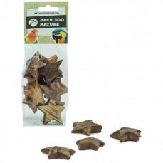 Etoiles de Coco Small - Pack de 8 - Jouet de Patte pour Perroquet