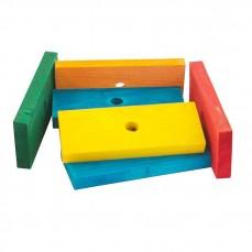 Zoo-Max - 7 Blocs de bois