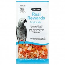 Offre Spéciale DLUO - Friandises ZuPreem Real rewards - Tropical Mix Perroquet - 170 gr