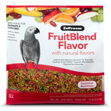 Extrudés ZuPreem FruitBlend Perroquets / Conures - 5,4 kg
