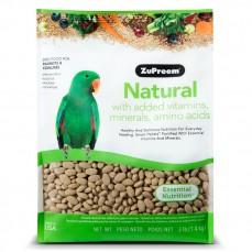 Extrudés ZuPreem Natural Perroquets / Conures - 1,36 kg