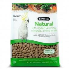 Extrudés ZuPreem Natural Grands Perroquets - 1,36 kg