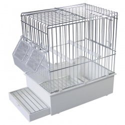 Cage de Transport Haute pour Petits Oiseaux