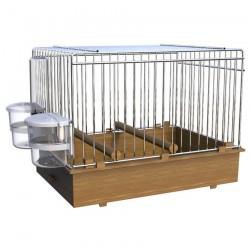 Cage d'Exposition pour Oiseaux de Chant