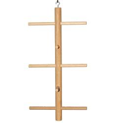 Arbre en Bois Multi Perchoirs pour Volière - Small Ø 11 x h 20 cm