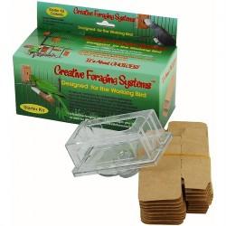 eafba3faa7f Buffet Small - Kit de Démarrage - Distributeur Alimentaire pour Perroquet