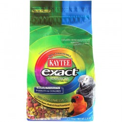 Kaytee - Exact Rainbow Extrudés Maintenance Perroquets & Conures - 1,13 kg