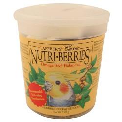 Offre Destockage - Lafeber - Nutri-Berries Classic 350 gr - Repas Complet pour Petites et Grandes Perruches