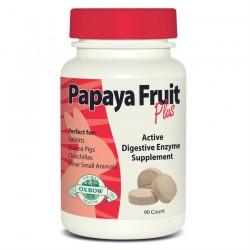 Oxbow - Papaya Fruit Plus - Enzymes Contre les Boules de Poils - 90 cachets