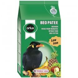 Orlux Beo Pâtée - Pâtée Grasse Pauvre en Fer pour Mainates - 1 kg