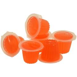 Fruit Cups - Gelée au Fruit Parfum Fraise - Lot de 6 Pièces