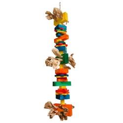 Zoo-Max - Cactus - Très Gros Jouet en bois pour Gros Perroquets